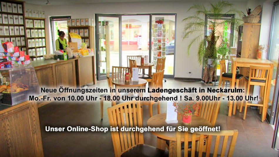 Teeladen in Monsheim gesucht? Teecultur der Tee Internet Shop